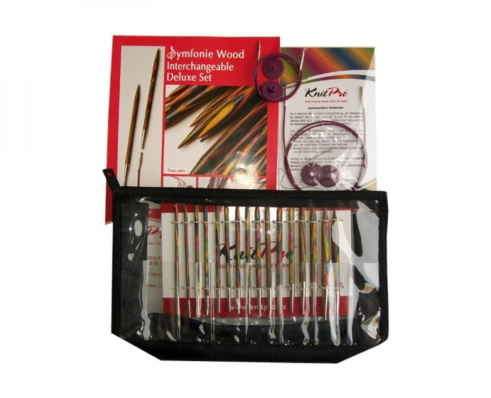 Knit Pro Symfonie Interchangeable Needles Deluxe Set NZ