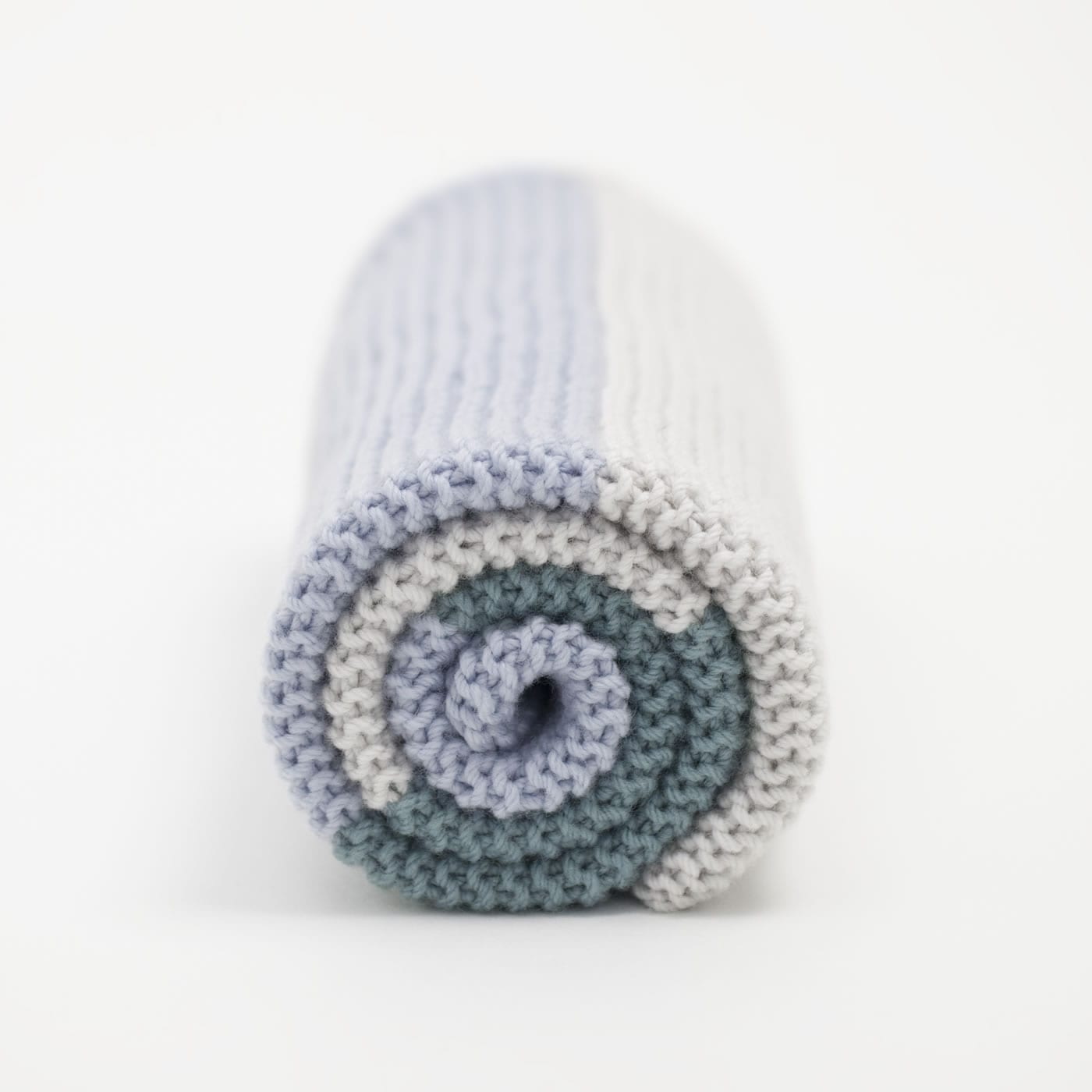 Simple Baby Blanket Knit Kit - THE WOVEN