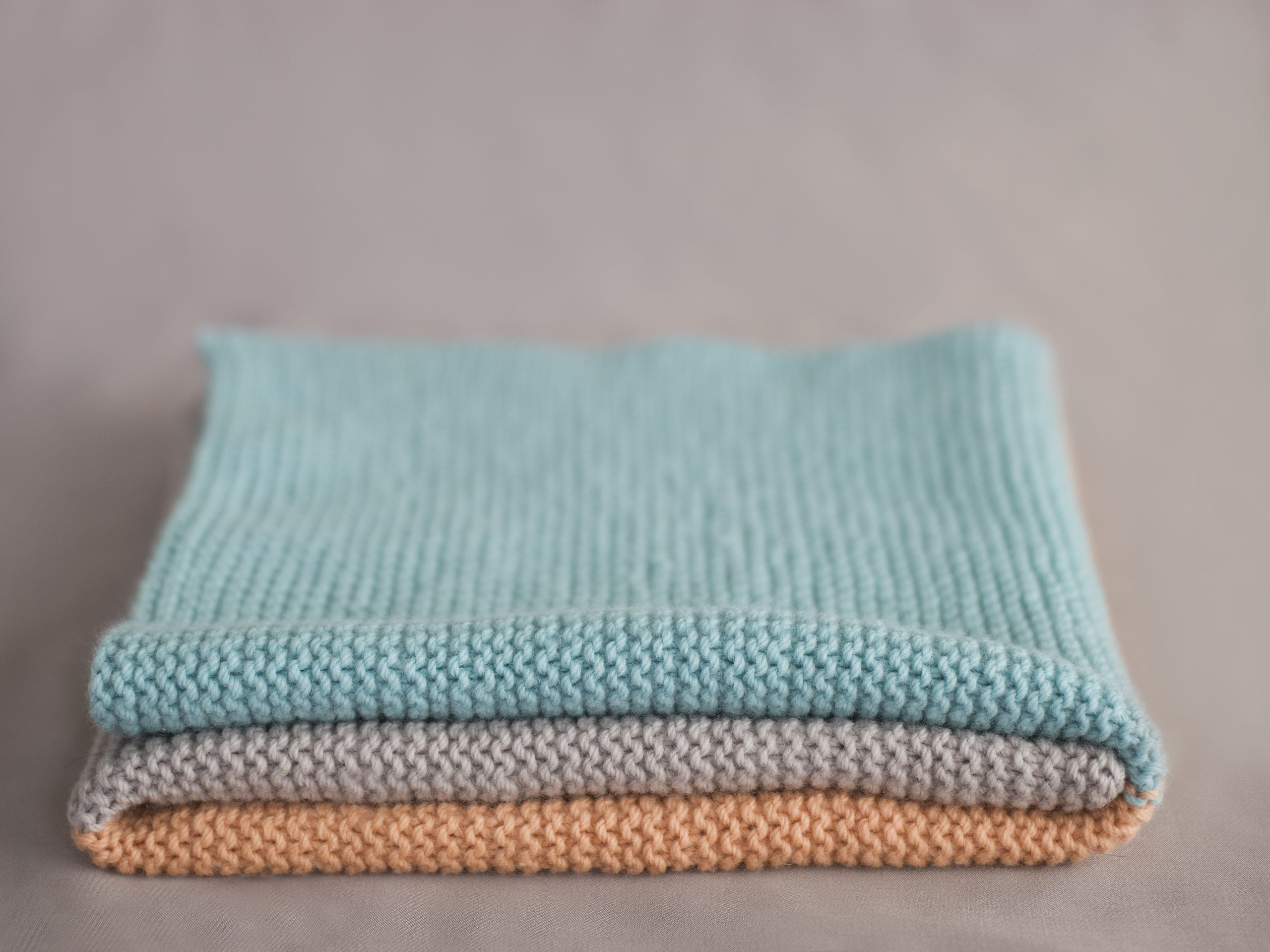 Simple Baby Blanket Knit Kit The Woven