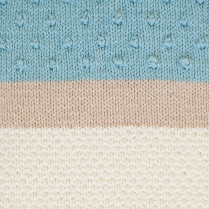 The Woven Textured Baby Blanket