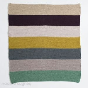 Colour Story Baby Blanket