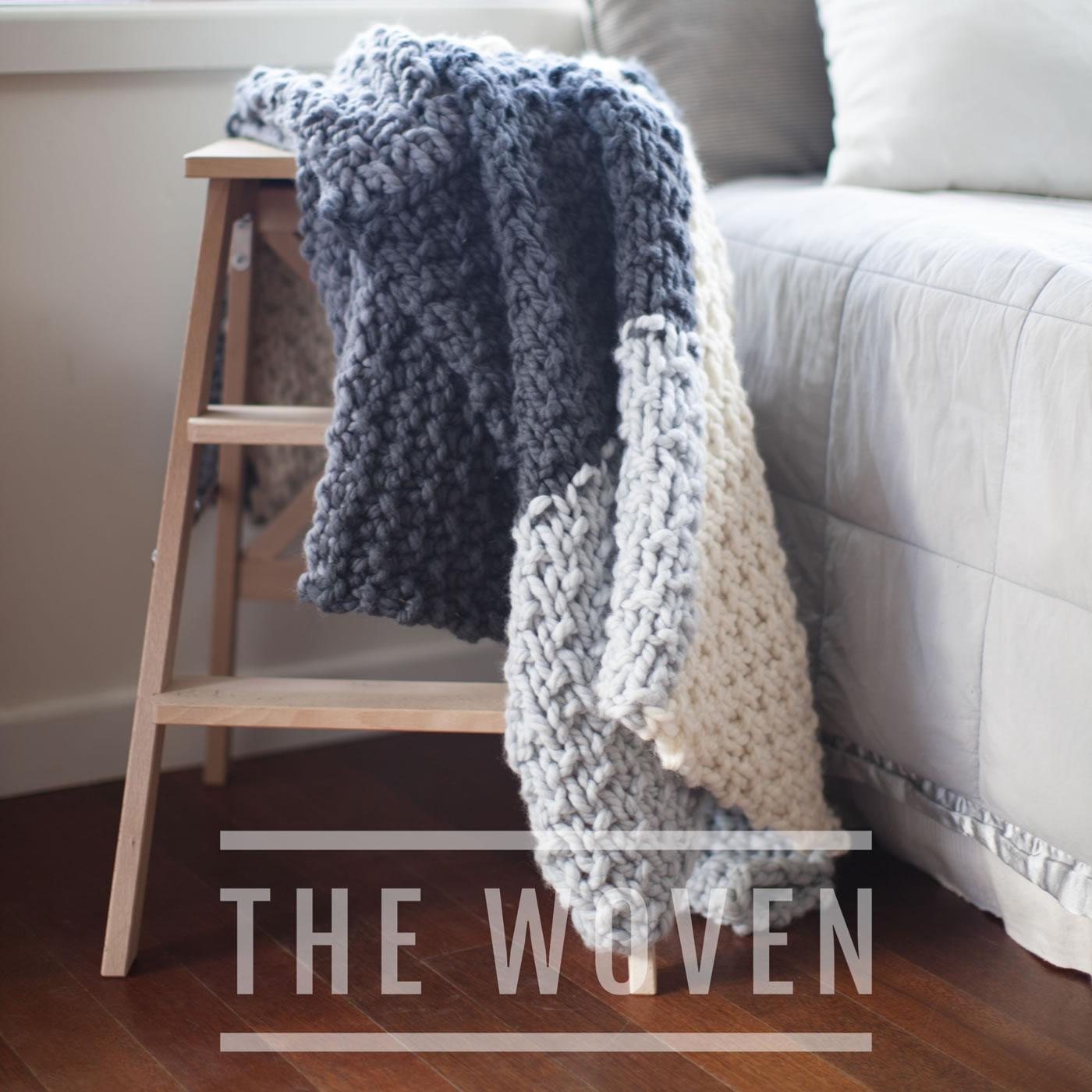 Mega Cabin Blanket In Chunky Nz Wool
