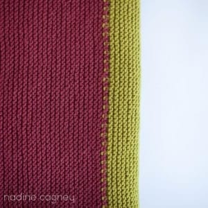 The Woven Big Baby Blanket in Spice