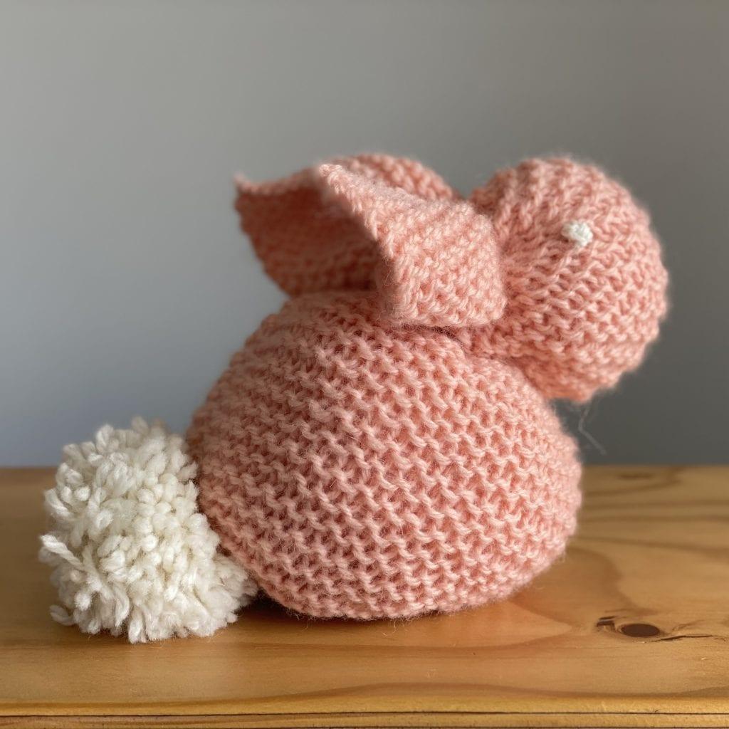 Simple Bunny Free Beginner Knitting pattern