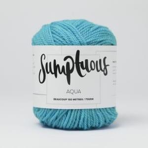 Sumptuous Beaucoup Aqua