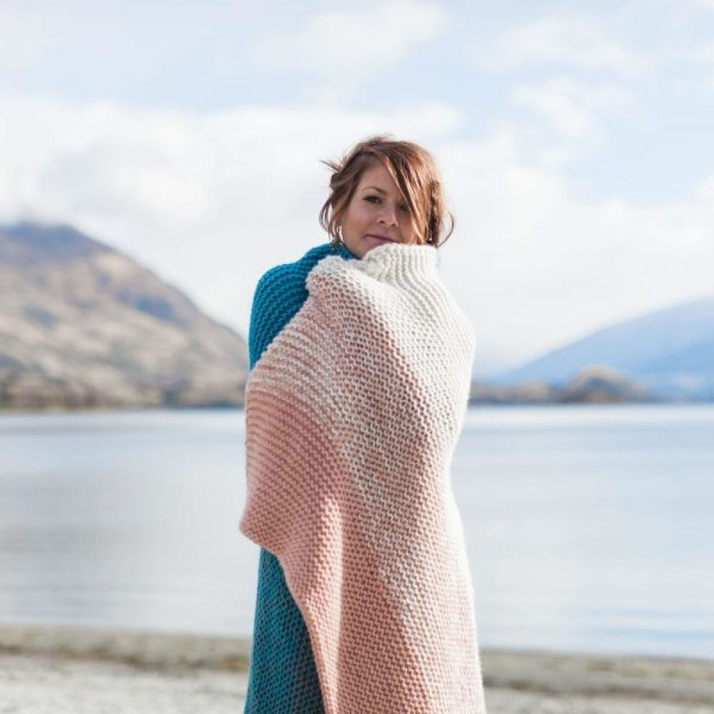 Snuggle Blanket in Sumptuous