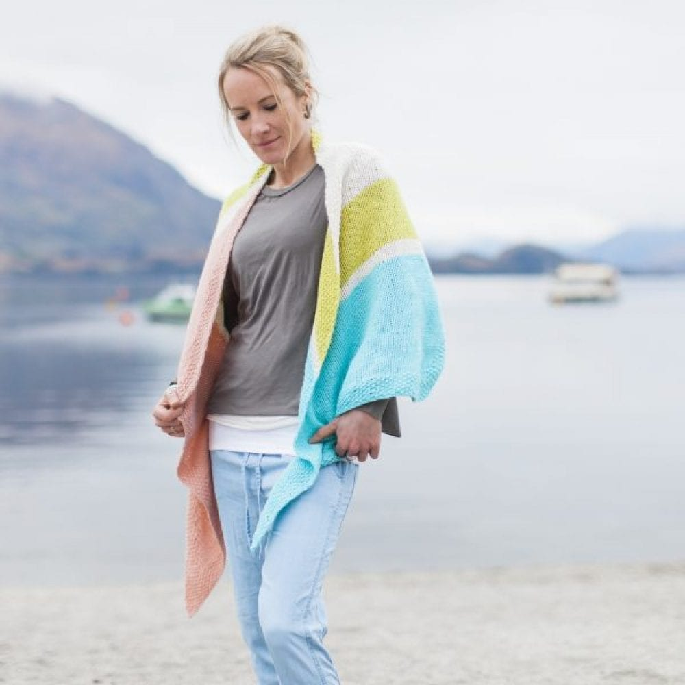 Jules Pashmina Wrap in Sumptuous by The Woven