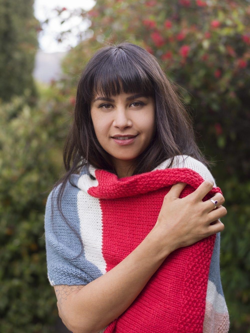 Jules Pashmina Knit Kit by The Woven Co