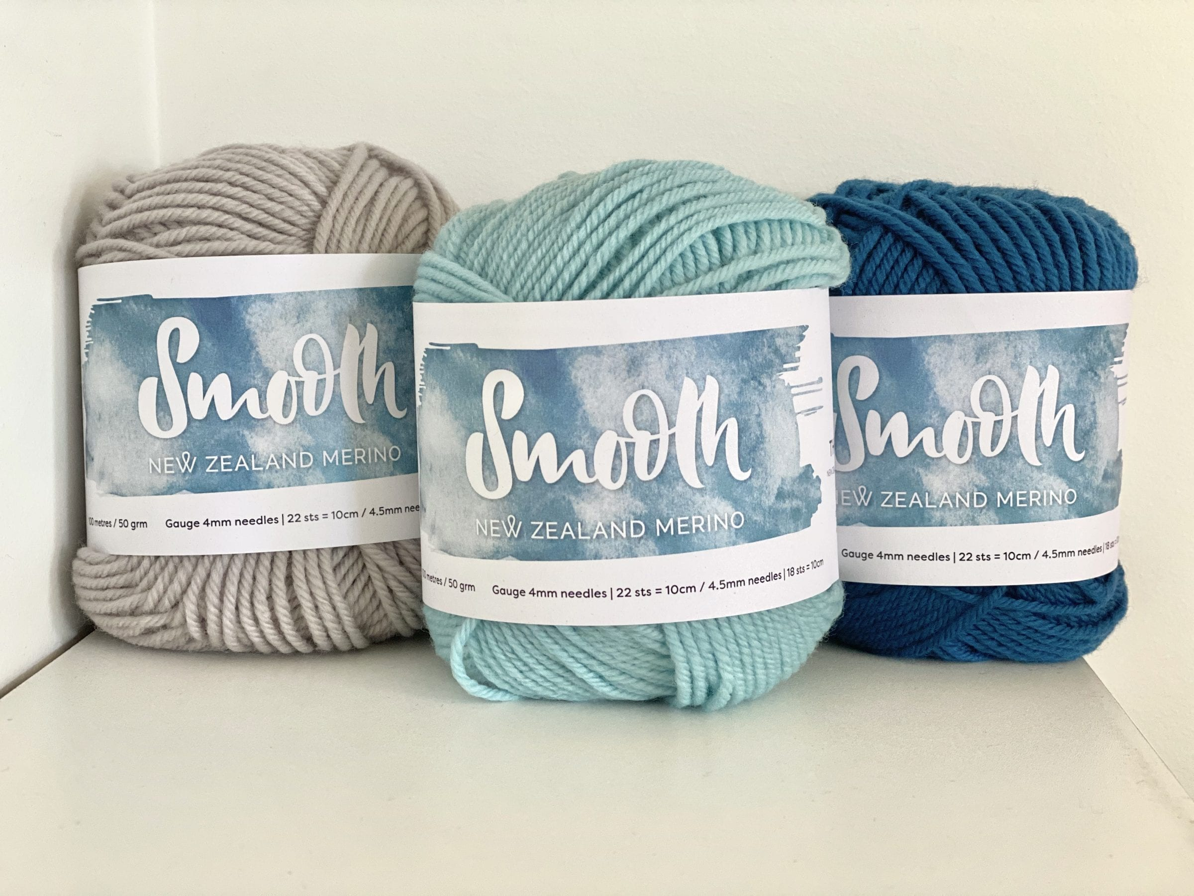 Smooth NZ Merino Knitting Yarn