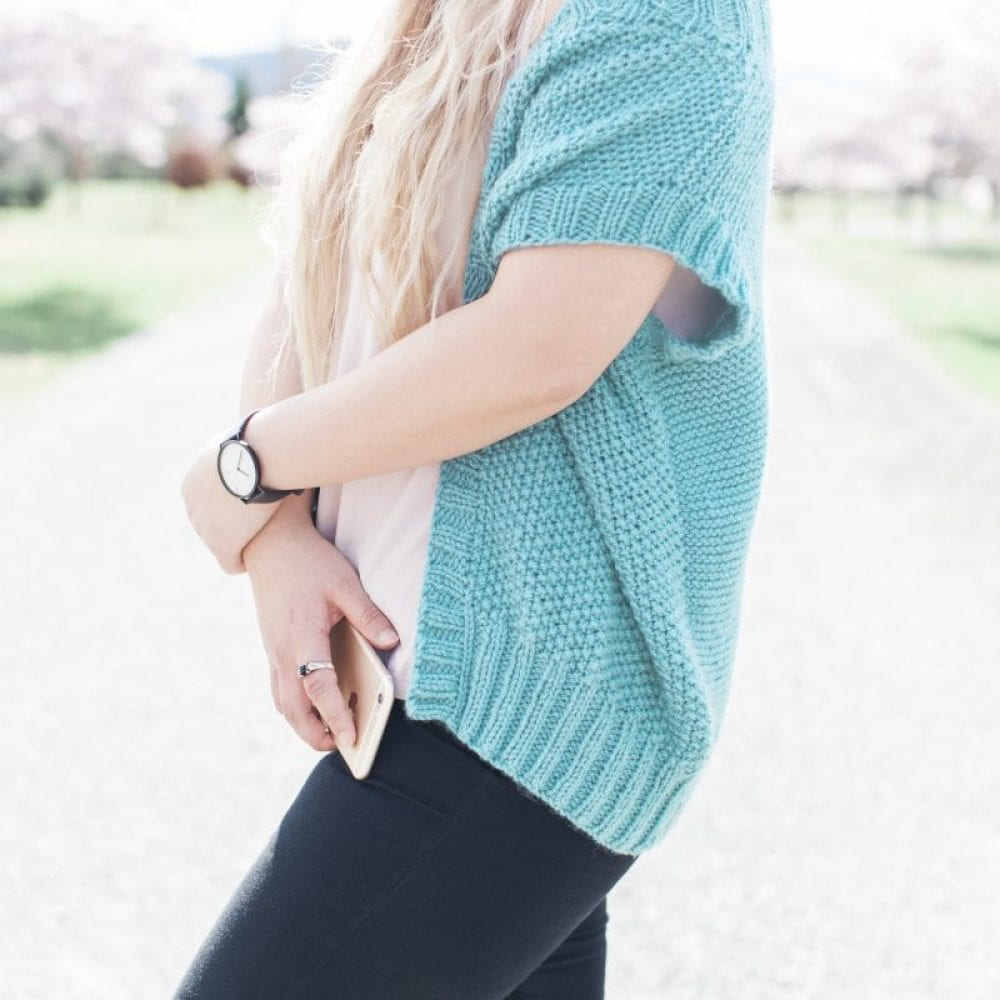 Slouchy Sunday Vest in Sumptuous