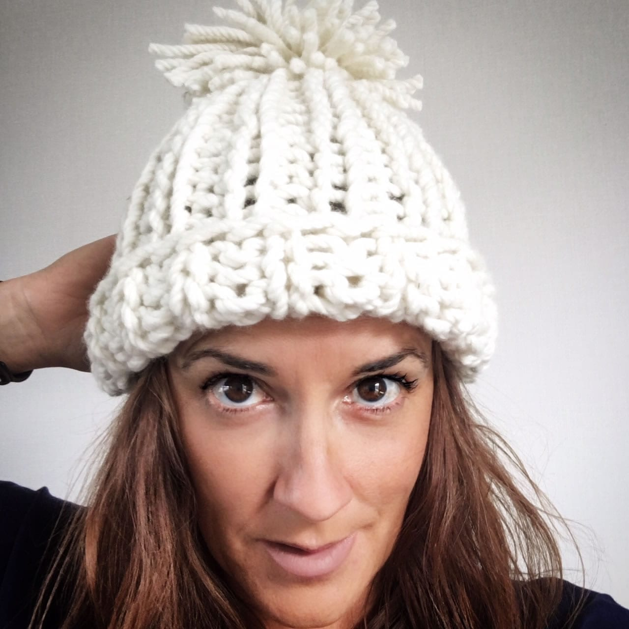 Chloe Kim Olympic Hat - Free Knitting Pattern - THE WOVEN