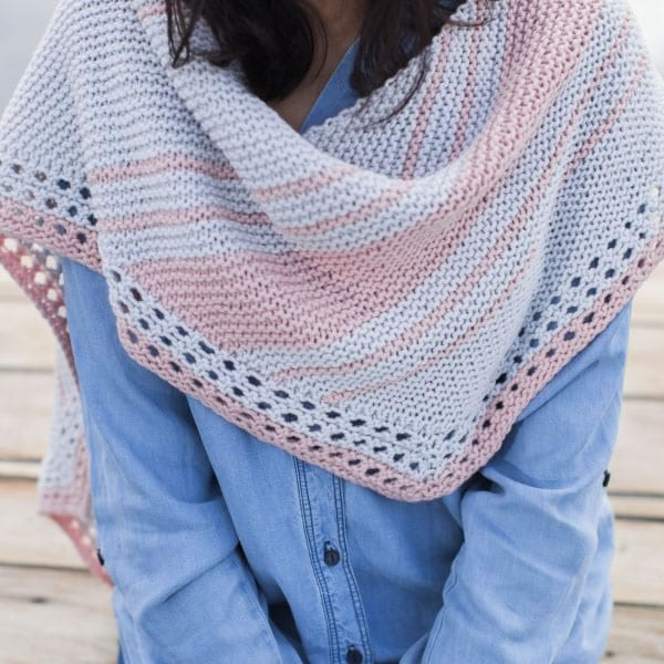 Lonna Shawl by Lina Knits