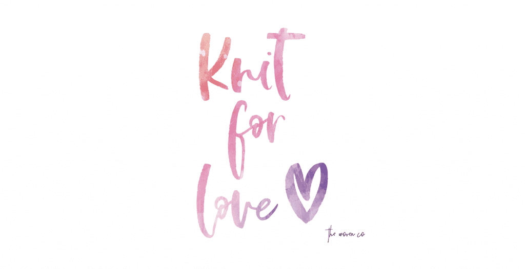 Knit for love, knit for Christchurch