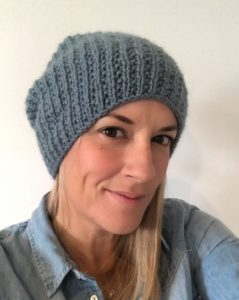 One T Beanie Hat - Free Knitting Pattern, The Woven Co