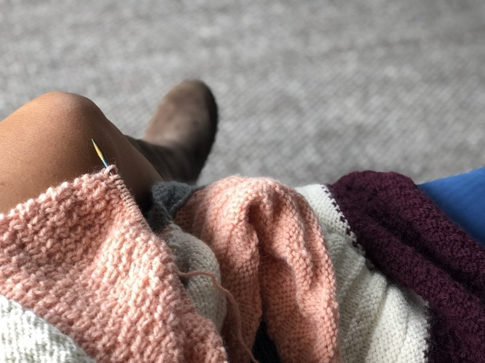 The Woven Co Mystery Blanket Club KAL