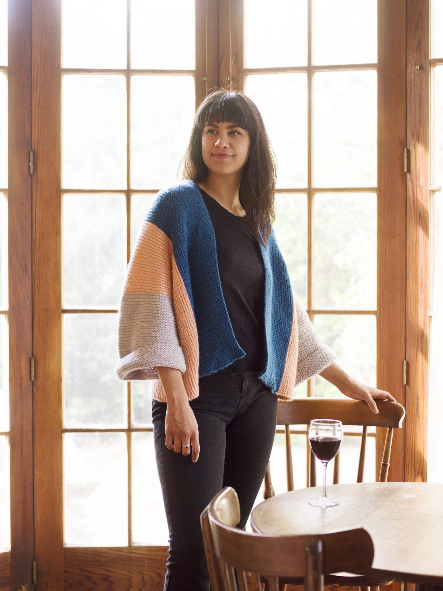 Grace Kimono Jacket Knit your own
