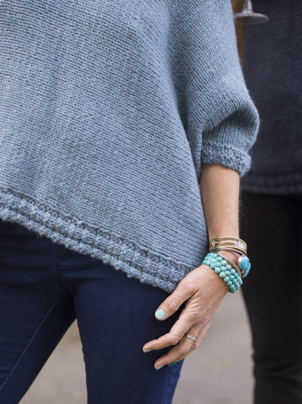 The Woven Jennifer Tunic Vest Knit Kit