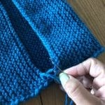 The Woven Co Learn to Knit, seaming