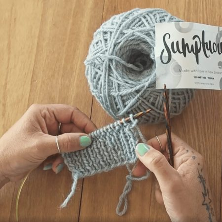How to Knit One Purl One (K1, P1) rib