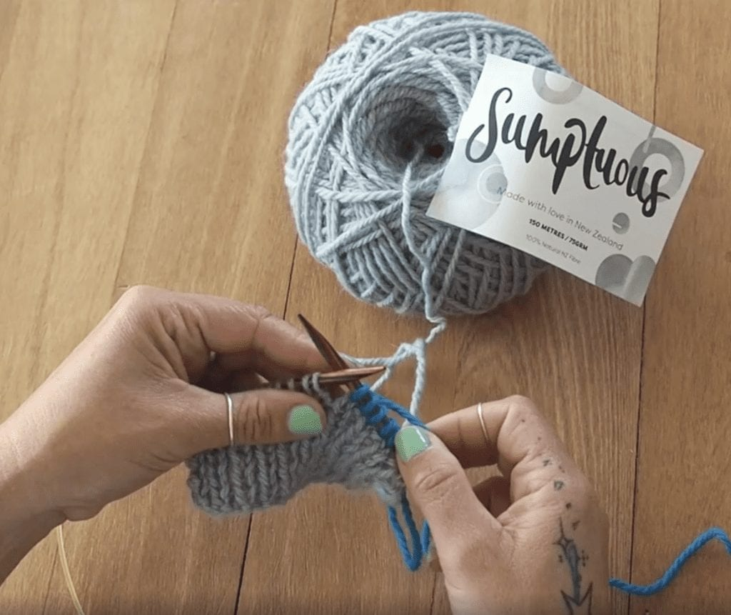 How to Knit, how to undo knitting