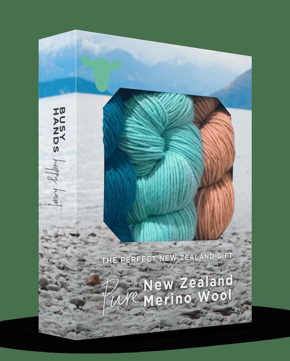 The Woven Co Merino Wool Knitting Yarn Gift Box