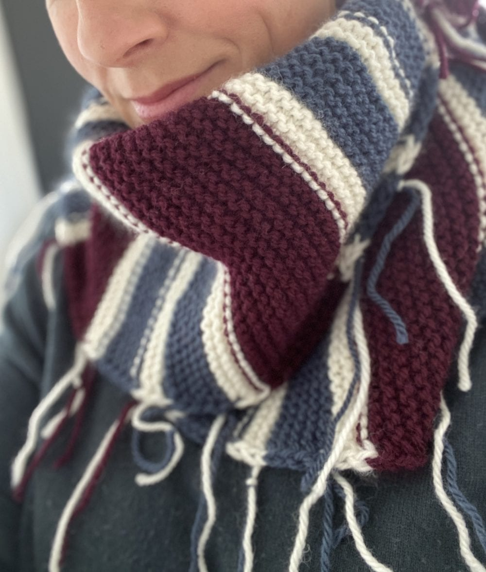 Scraggle Scarf Free Knitting Pattern