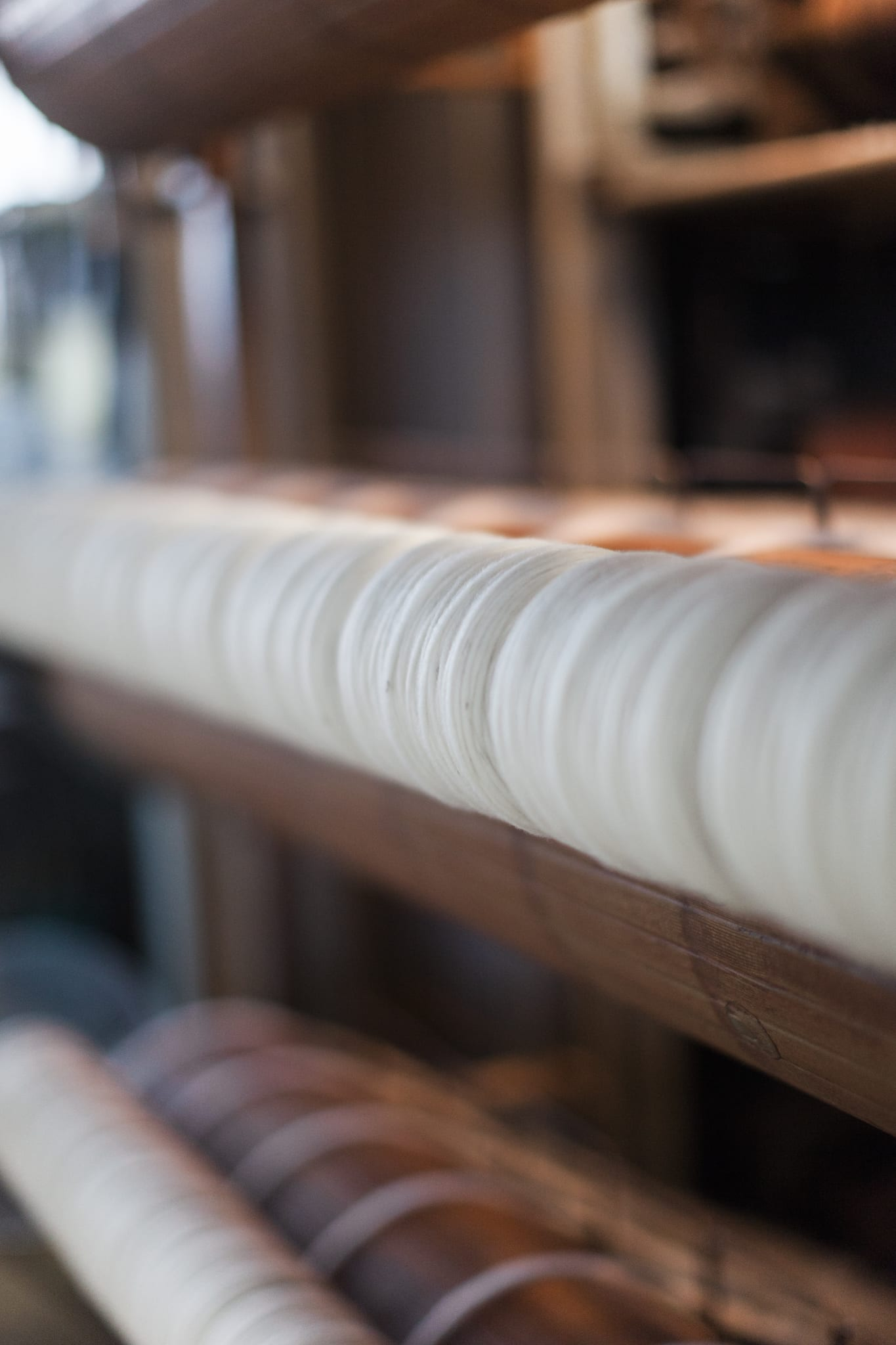 The Woven Co small batch spinning