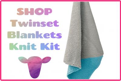 Shop twinset blankets knit kit