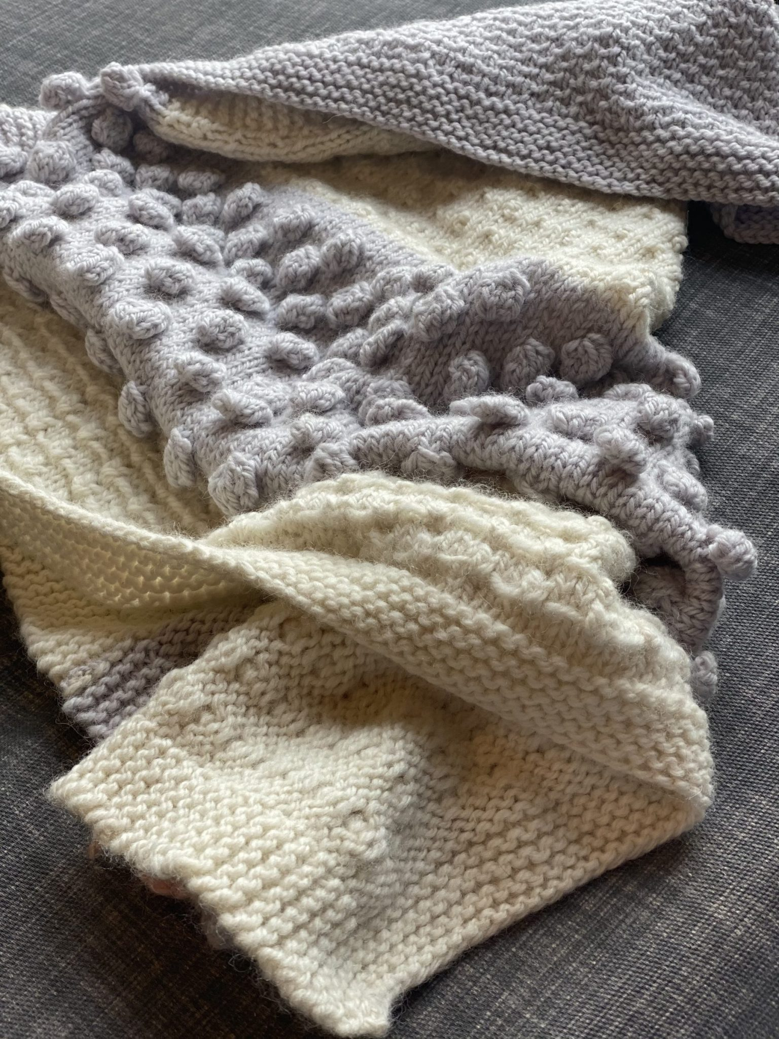 All the Texture Knit Blanket