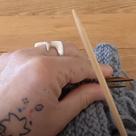 How to 3 needle bind off