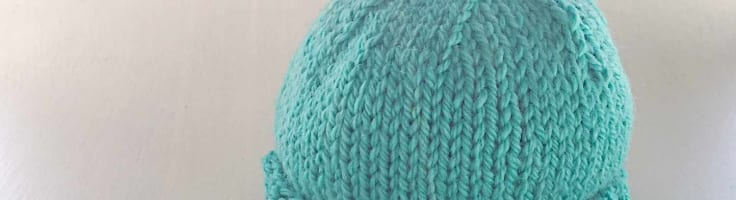 Wee Noggin Free Baby Hat Knit Pattern The Woven